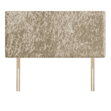 CRUSHED VELVET PLAIN HEADBOARD