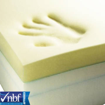 1 TO 4 INCHES THICKNESS MEMORY FOAM MATTRESS TOPPER