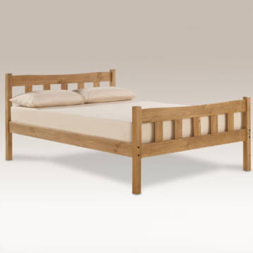 HAVANA SOLID WOODEN PINE BED FRAME