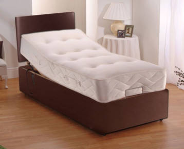 ELECTRIC LEATHER ADJUSTABLE BEDS POCKET SPRUNG MATTRESS