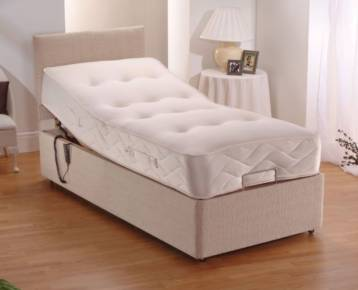 ELECTRIC CHENILLE ADJUSTABLE BED POCKET SPRUNG MATTRESS