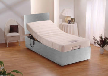 ADJUSTABLE ELECTRIC BED LEATHER WITH MEMORY FOAM MATTRESS