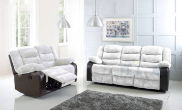 RIO RECLINER 3+2 SET CREAM