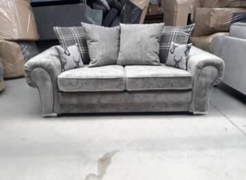 FERNANDO SOFA BED VERONA 3 SEATER GREY