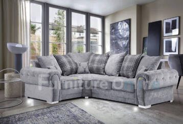 Verona 4 SEATER LEFT Corner Grey